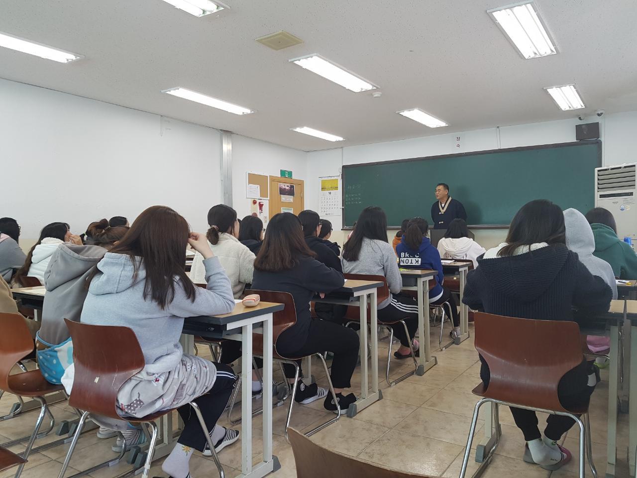 여학생 명상학습법특강 사진3