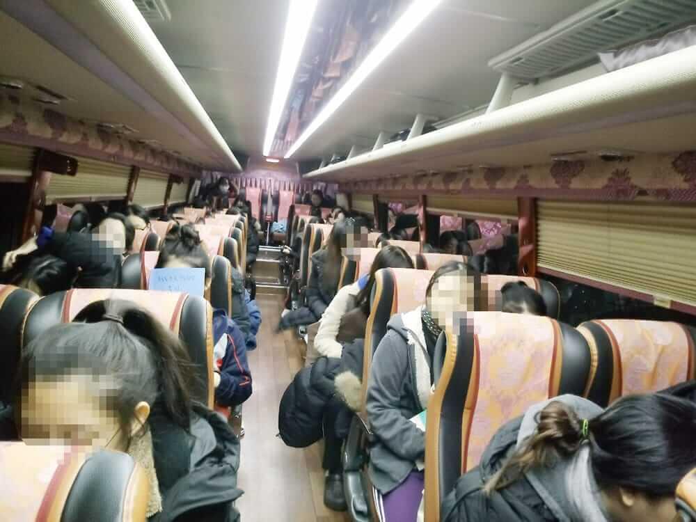 대학수학능력시험 수능 버스