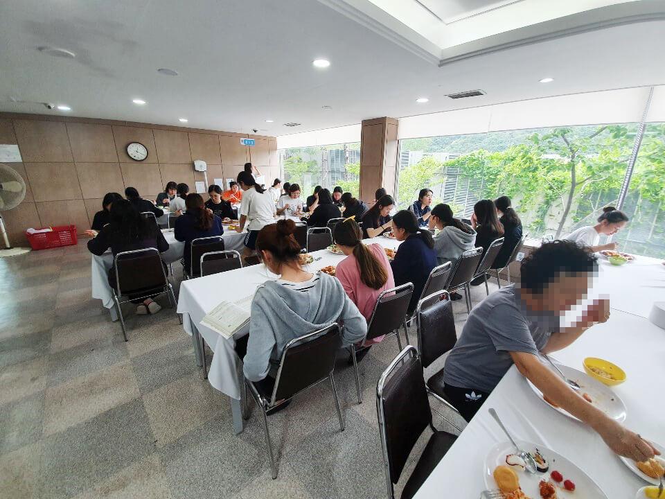 에듀셀파 여학생 캠퍼스 식당